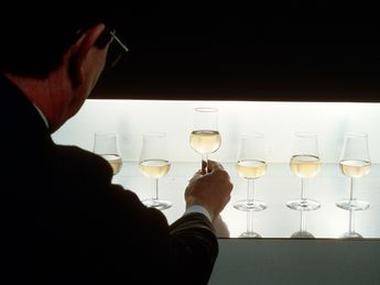 Champagner-Tasting. Quelle: Comité Champagne / Foto: PIPER HEIDSIECK